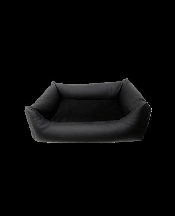 lit rectangulaire simili cuir hodogchic. Black Bedroom Furniture Sets. Home Design Ideas